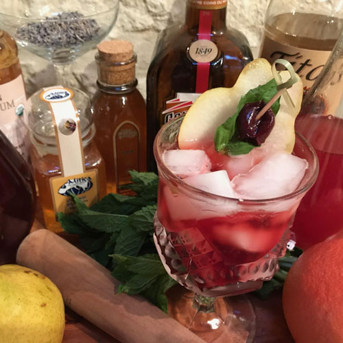 Mixology with the finest ingredients!